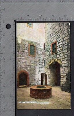 Isle of Man - Castle Rushen & Ancient Well - Manx Sun Series No.0444