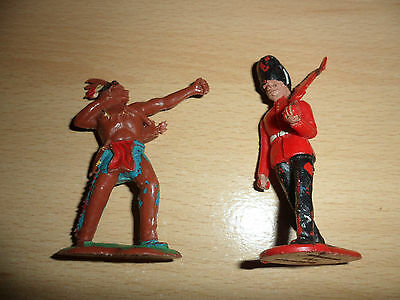 Crescent Toy Soldier ref G11 and Indian Ref T10
