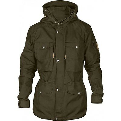 Fjallraven Mens Singi Trekking Jacket Dark Olive (Medium)