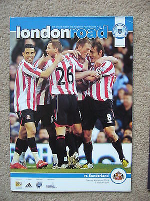 PETERBOROUGH UNITED v SUNDERLAND FRIENDLY 2009 PROGRAMME