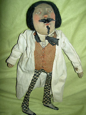 Very rare Kammer & Reinhardt cloth stockinette, German K *R 1920s character doll