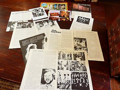 pans people totp dancers legs & co UK  1970s + clippings set pin ups /  special