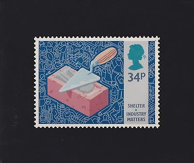 GB STAMPS 1986 INDUSTRY UNATTRIBUTED ORIGINAL ART UNUSED No 11 FROM COLLECTION
