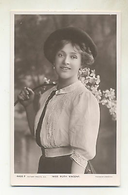 Edwardian Theatre  Actress Miss Ruth Vincent .pub Rotary  .ref 4435 F Date ?