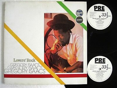 GREGORY ISAACS * Lovers Rock * CHARISMA 2 LPs 1981