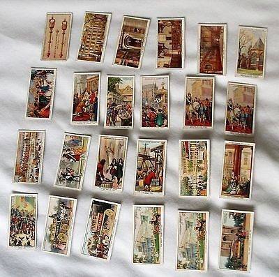 24 WA & AC Churchman cigarette cards