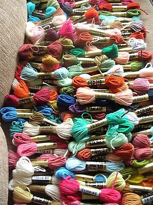 Tapestry Wool 150 skeins Assorted colours New & Banded By Anchor