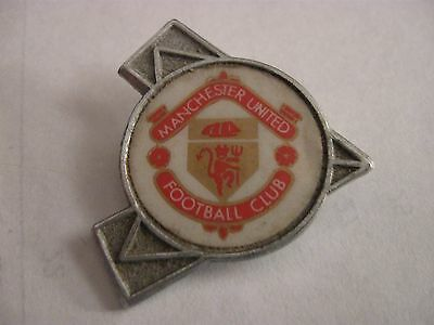 Rare Old Manchester United Football Club (6) Metal Brooch Pin Badge