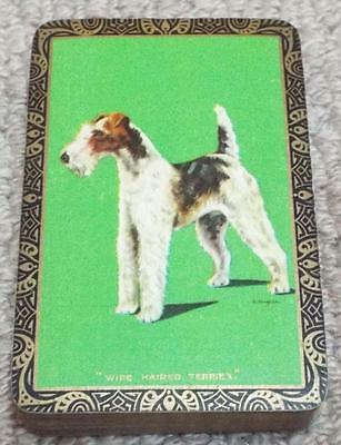 Wire Haired Terrier Dog - Vintage 1930's Pack of Goodall Playing Cards