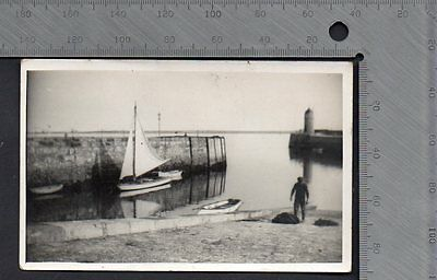 Isle of Man - Castletown Harbour 1934 RP