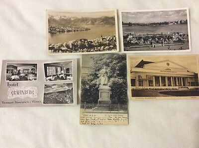 Germany. 5 mixed postcards. Please see photos.
