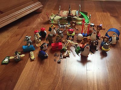 Madagascar Lot Of Toys
