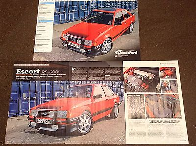 FORD ESCORT RS1600i - Classic Test Article