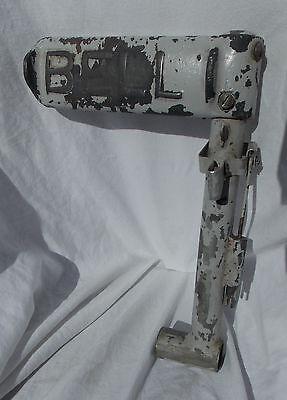 MASH H-13 Bell 47 Helicopter Pilot's Foot Pedal Assembly Marked BELL