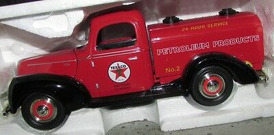 Texaco Petroleum Products Tanker Diecast Truck - Oil Gas