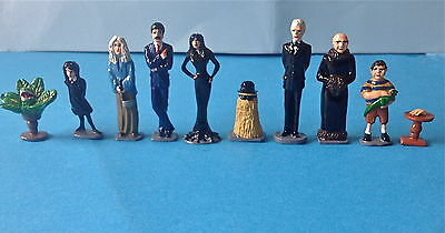 The Addams Family 54m.m. Metal Figures