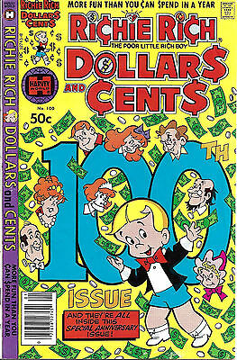 RICHIE RICH DOLLARS AND CENTS #100  Jan 81