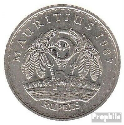 Mauritius km-number. : 56 1991 extremely fine Copper-Nickel extremely fine 1991