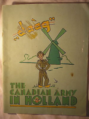 Canadian Army Holland War Cartoons Humour Canada Military History Netherlands