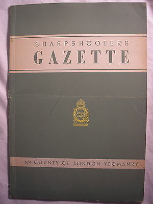 London Yeomanry Sharpshooters Journal  1946  Regiment British Army