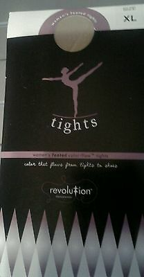 New Revolution Classic Pink Footed Dance Ballet Tights Ladies Womens Size Xlarge