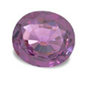 Purple Pink SPINEL Oval Cut 7X6mm 1.21 Ct.