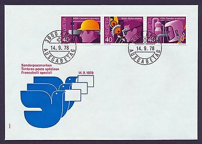 SWITZERLAND 1978 FIRST DAY COVER Unaddressed FDC #a400 SG963a £4.50+ (for mint)