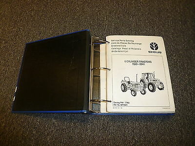 FORD NEW HOLLAND 7840 8240 8340 6-Cylinder Tractor Parts Catalog