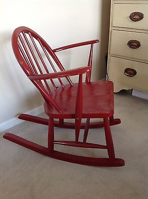 Beautiful Ercol childs rocking chair