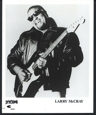 1993 LARRY McCRAY BLUES POINTBLANK CHARISMA RECORDS PUBLICITY PRESS PHOTO