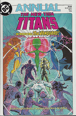NEW TEEN TITANS  Annual#1 - 1985