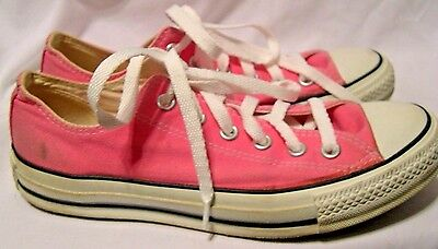 Converse All Star Chuck Taylor womens size 8  PINK tennis shoes