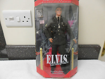 """RARE - The Elvis Presley Collection """"The Army Years"""" Classic Edition Figurine"""