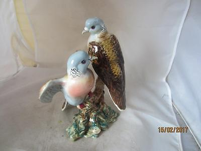 Vintage Beswick '2 Turtle Doves'- No.1022, Issued 1945-70