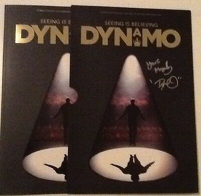 Dynamo Tour Signed Program
