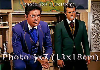 THE WILD WILD WEST Robert Conrad Ross Martin PHOTO 5x7 inches #086