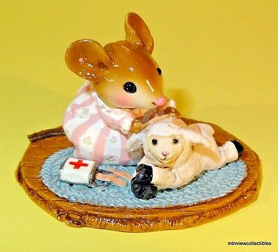 Wee Forest Folk M-374 Boo Boo Lamb - RETIRED 2014