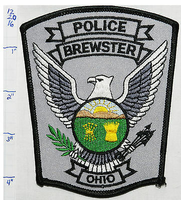Ohio, Brewster Police Dept Patch