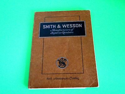 Smith & Wesson Scarce 80th Anniv Catalog w/June 1935 Price List & Spcl Prices
