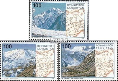 Tajikistan 109-111 (complete.issue.) unmounted mint / never hinged 1997 Pamirgeb