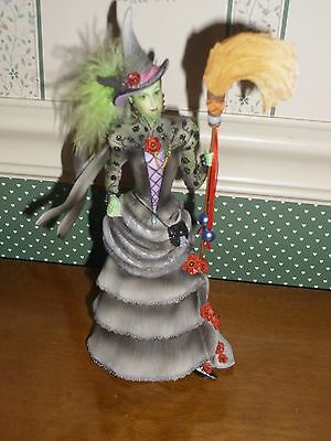 "Enesco- Wizard Of Oz- Coutre De Force-Wicked Witch Of West Fig.-10"" H-New-2015"