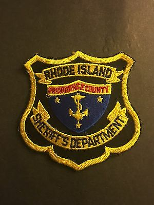 Providence County  Rhode Island Sheriff Shoulder Patch