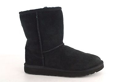 Ugg Australia Kid's Youth Black Classic Short Boots Size 4  S580