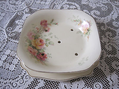 Gorgeous A J Wilkinson Honeyglaze Floral Dance Drainer And Underplate