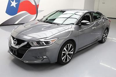 2017 Nissan Maxima  2017 NISSAN MAXIMA 3.5 SV HTD LEATHER NAV REAR CAM 12K #365341 Texas Direct Auto