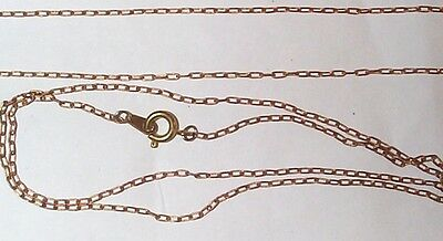 Vintage Brass Finished 16 Inches Jewelry Chains With Spring Ring Clasp 8 Pieces