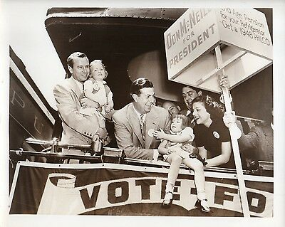 """g649. Original 1950 ABC-TV Photo Don McNeill's """"Breakfast Club"""" 4th Party Ticket"""