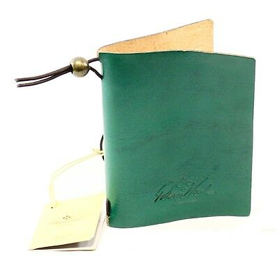 Patricia Nash NEW Green Teal Jade Leather Spezia Bifold Book Cover $39- #060