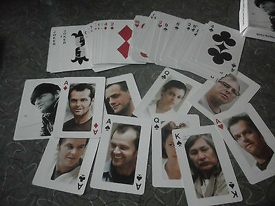 One Flew Over The Cuckoo's Nest Collector Cards Jack Nicholson