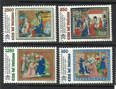 Vatican 1996 Marco Polo's Return from China  MNH SC # 1004 - 1007